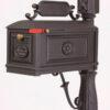 iron mailbox