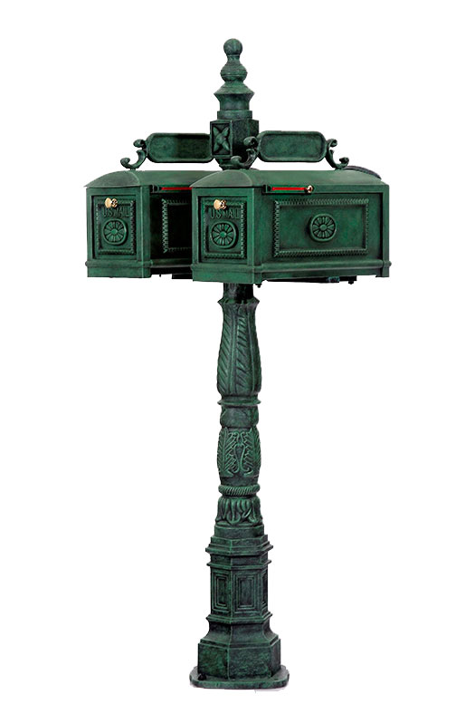 mail box - wrought iron mailboxes