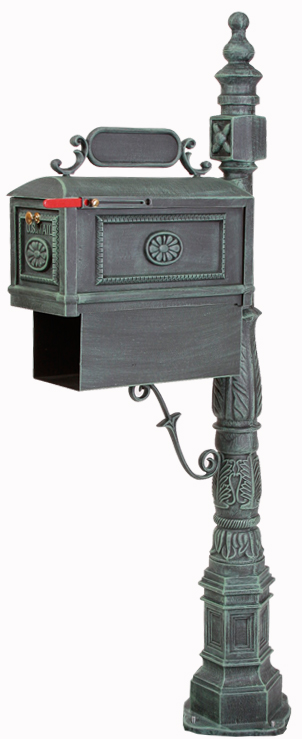 post mount mailbox - new mailbox